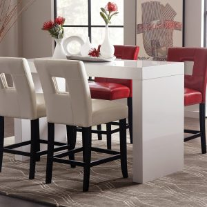 Callaghan Dining Table High Gloss White