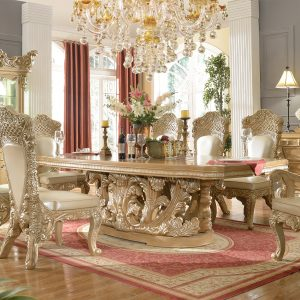 HD-2107 – 9PC DINING TABLE SET