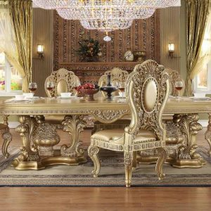HD-6108 – 9PC DINING TABLE SET