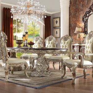 HD-7108 – 9PC DINING TABLE SET