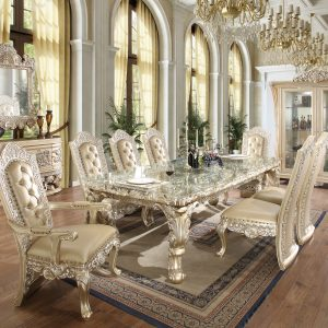 HD-2208 – 9PC DINING TABLE SET