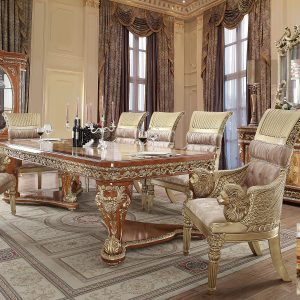 HD-4208 – 7PC DINING TABLE SET
