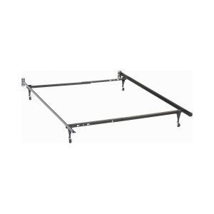Twin/Full Bed Frame Black