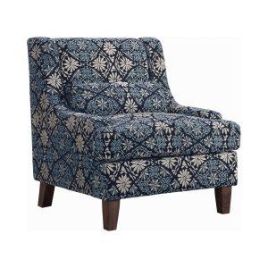 Coltrane Sloped Arm Upholstered Chair Multi-Color