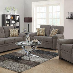 Fairbairn Upholstered Sofa Oatmeal