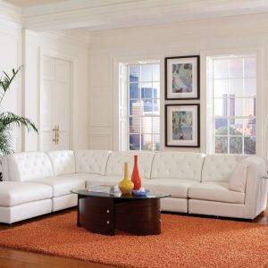 Quinn Tufted Corner White