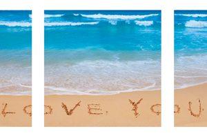 Beach i love u